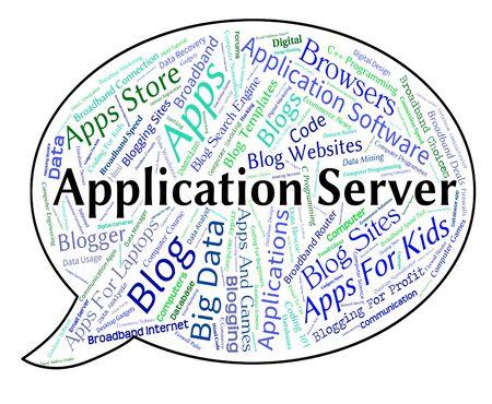 serves: Application Server Meaning Serves Hosting And Host