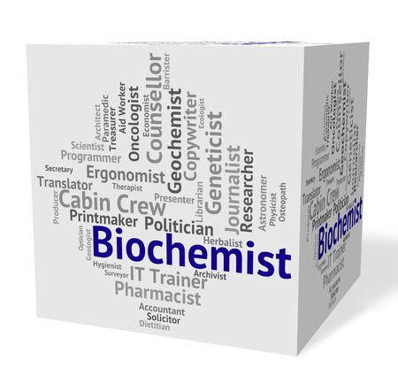 biological: Biochemist Job Meaning Biological Science And Word