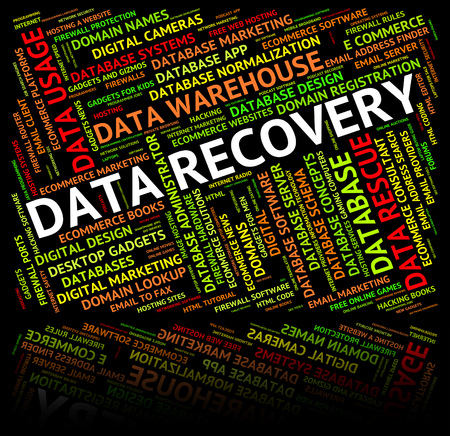 data recovery: Data Recovery Representing Retrieve Recouping And Information