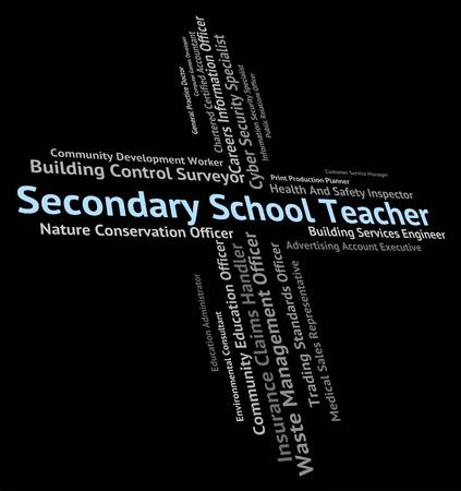 secondary school: Secondary School Teacher Representing Senior Schools And Hiring