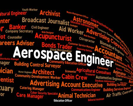 aerospace: Aerospace Engineer Meaning Position Jobs And Hiring Stock Photo