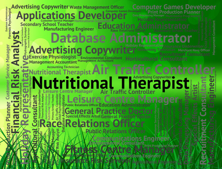 nutriments: Nutritional Therapist Meaning Recruitment Nutriments And Clinicians Stock Photo