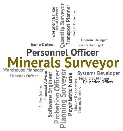 topógrafo: Topógrafo de los minerales Significado topógrafos texto y ocupaciones