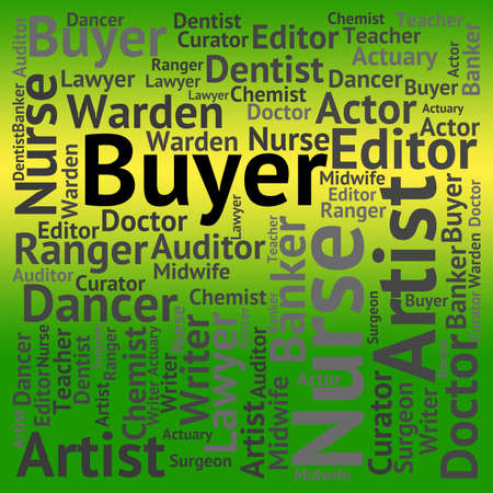 purchasers: Buyer Job Indicating Word Jobs And Work