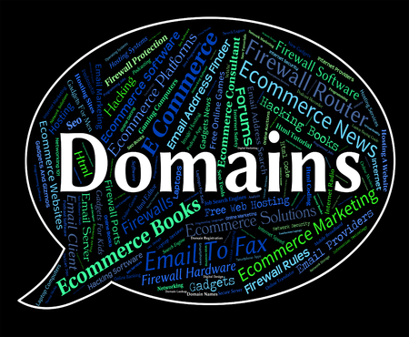 dominion: Domains Word Representing Dominion Empire And Zone