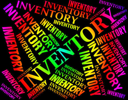 inventories: Inventory Word Meaning Words Merchandise And Inventories