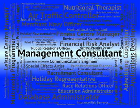 advisers: Management Consultant Showing Word Administration And Directors