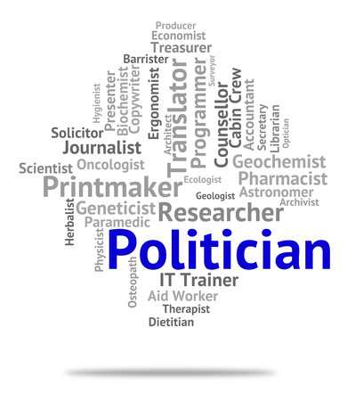 elected: Politician Job Meaning Member Of Parliament And Political Leader