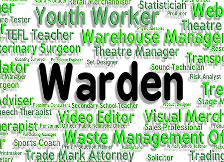 superintendent: Warden Job Meaning Warder Occupations And Ranger