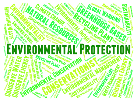 Environmental Protection Representing Earth Day And Sustainable