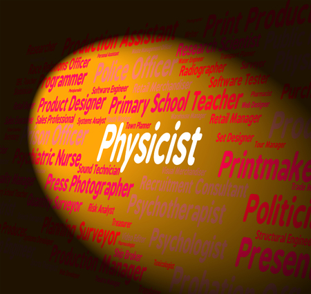physicist: Physicist Job Showing Lab Technician And Physicists
