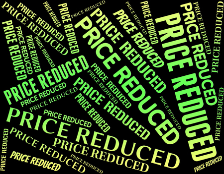 levy: Price Reduced Meaning Charge Outlay And Levy Stock Photo