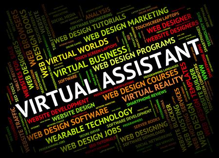 Virtual Assistant Indiquer Out Contrat Et Freelance