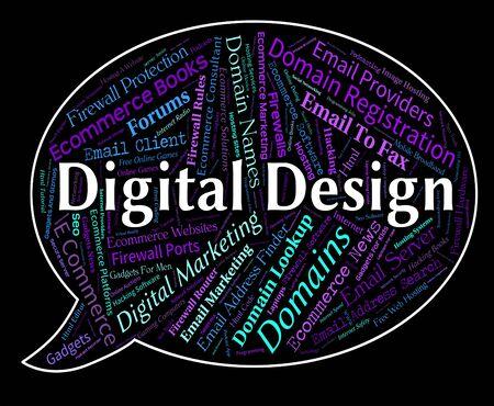 tec: Digital Design Indicating High Tec And Words