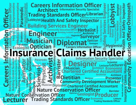 handlers: Insurance Claims Handler Showing Handlers Covered And Employee