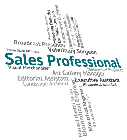 proficiency: Sales Professional Showing Experts Professionals And Professions