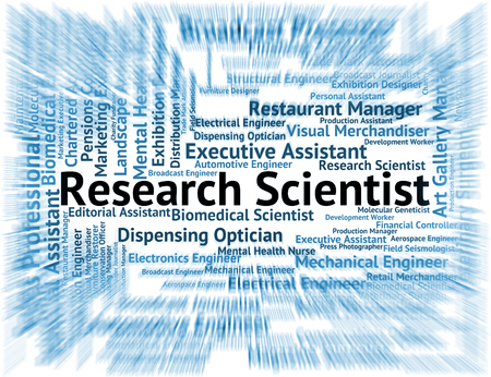 test probe: Research Scientist Meaning Gathering Data And Researcher
