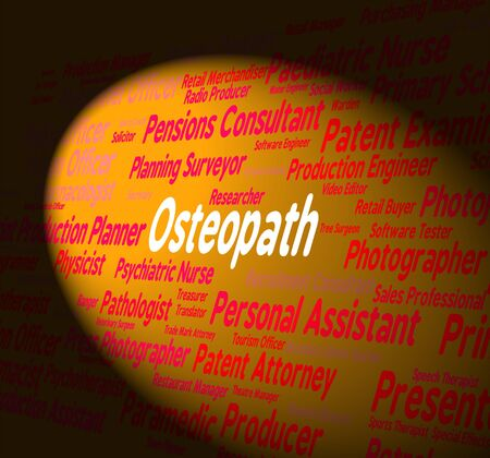 osteopath: Osteopath Job Meaning Research Work And Bones