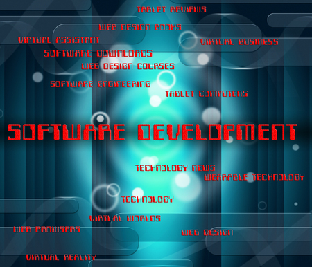 programs: Software Development Indicating Program Programming And Programs