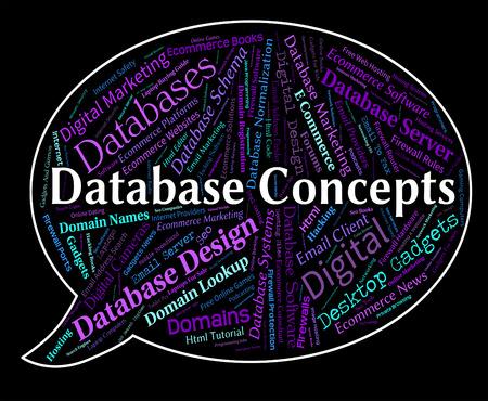 hipótesis: Conceptos de base de datos de palabras Mostrando Pensamientos y conceptualización