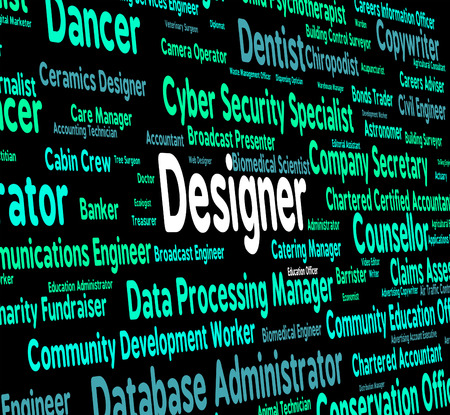 experts: Designer Job Representing Experts Career And Excellence