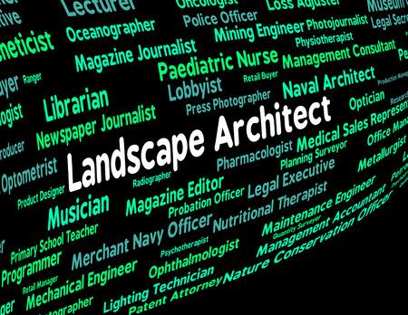 creador: Significado del arquitecto de paisaje Consultor de construcci�n y creador
