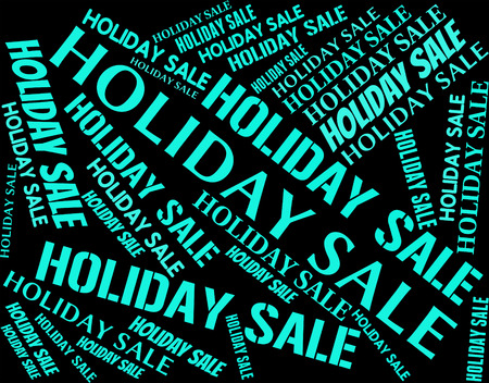 time off: Holiday Sale Showing Go On Leave And Time Off