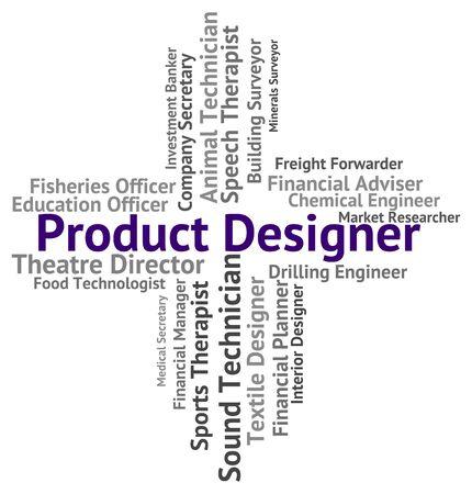 designed: Product Designer Showing Shopping Designed And Designing