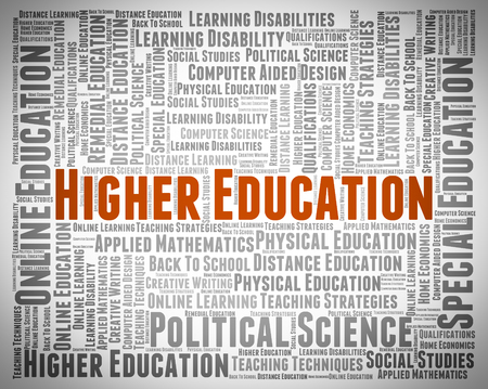 schooling: Higher Education Representing Schooling Educated And School