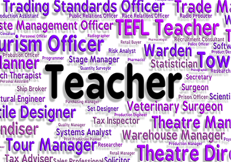 taught: Teacher Job Meaning Word Position And Tutor