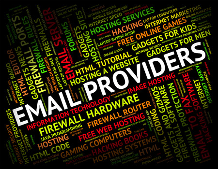 giver: Email Providers Indicating Send Message And Suppliers