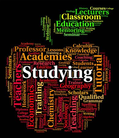 learned: Studying Word Meaning Schooling School And Learned