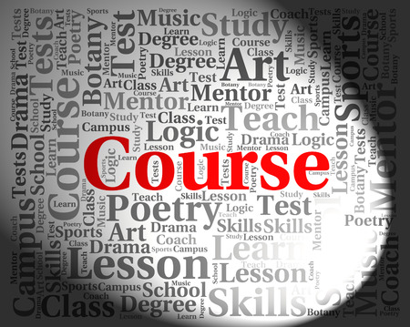 schooling: Course Word Showing Schooling Tutoring And Train