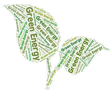 earth friendly: Green Energy Meaning Earth Friendly And Natural