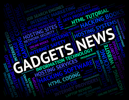 mod: Gadgets News Meaning Mod Con And Mechanisms Stock Photo