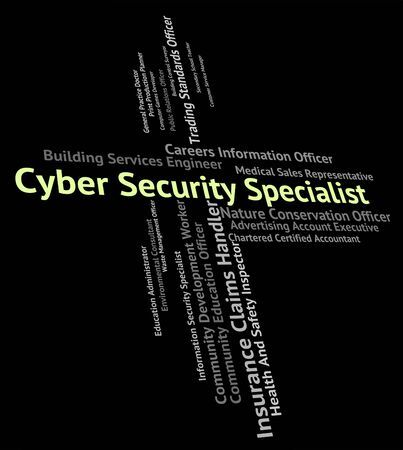 secure site: Cyber Security Specialist Representing World Wide Web And Skilled Person