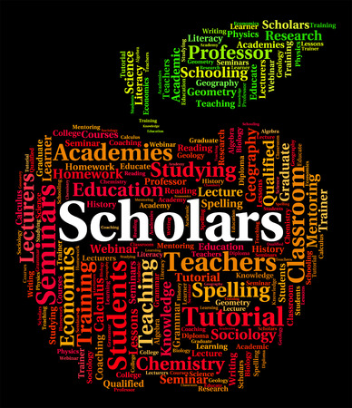 lernte: Scholars Word Representing Learned Persons And Text
