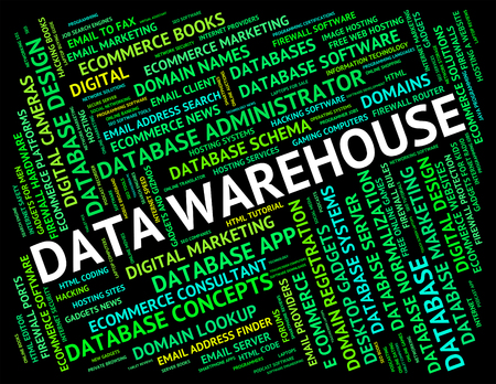 stockroom: Data Warehouse Indicating Store Stockroom And Fact