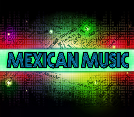 harmonies: Mexican Music Showing Sound Tracks And Song