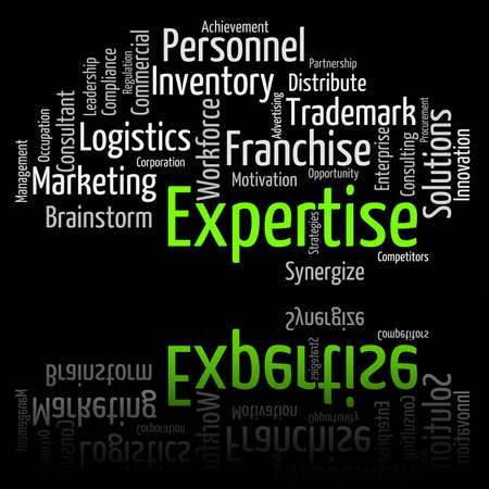 capabilities: Expertise Word Representing Excellence Capabilities And Experts Stock Photo