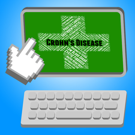 enteritis: Crohns Disease Representing Granulomatous Colitis And Disability