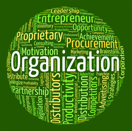 organizing: Organization Word Meaning Consortium Organizing And Words