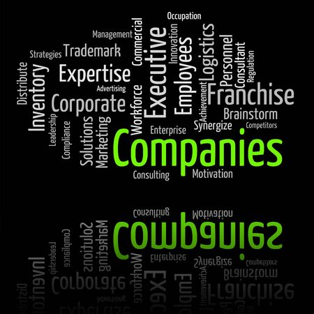 commerce: Companies Word Meaning Commerce Words And Businesses