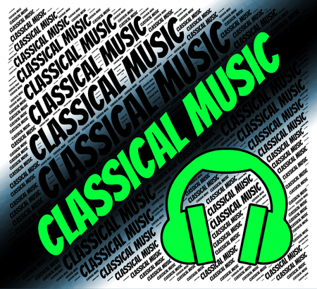 harmonies: Classical Music Meaning Sound Tracks And Harmonies Stock Photo