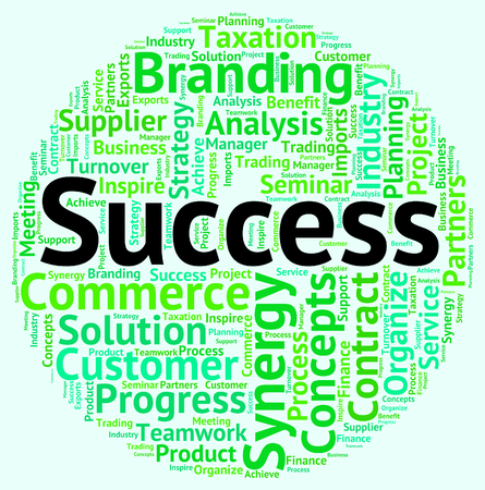 success word: Success Word Meaning Victor Victors And Succeed
