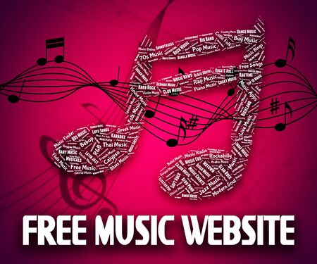 freebie: Free Music Website Meaning Without Charge And Freebie