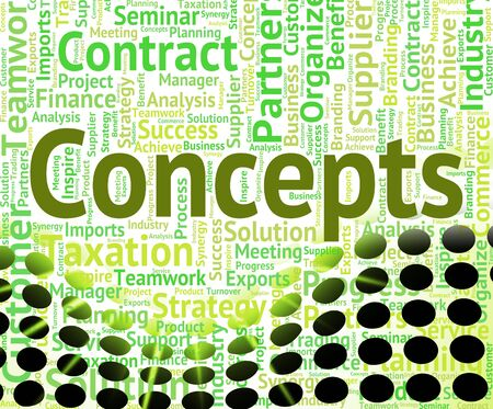 hipotesis: Conceptos Palabra Mostrando Innovación pensamiento y la idea