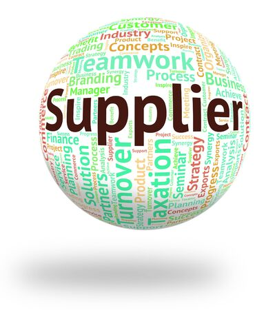middleman: Supplier Word Indicating Supply Distribute And Dealership