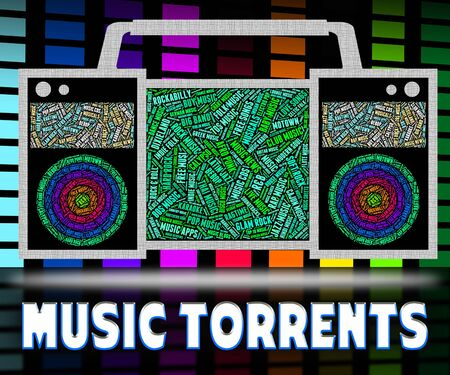 file sharing: Music Torrents Showing File Sharing And Internet