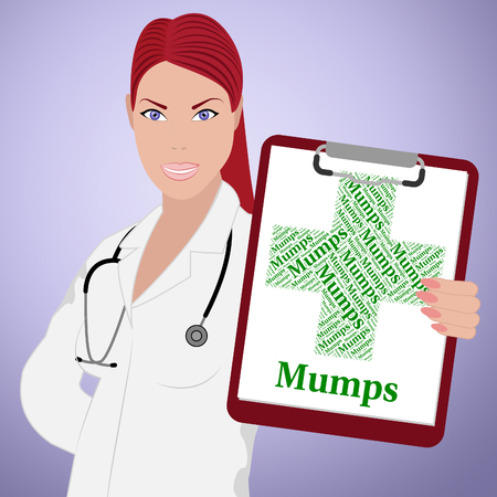 indisposition: Mumps Word Meaning Ill Health And Disorder